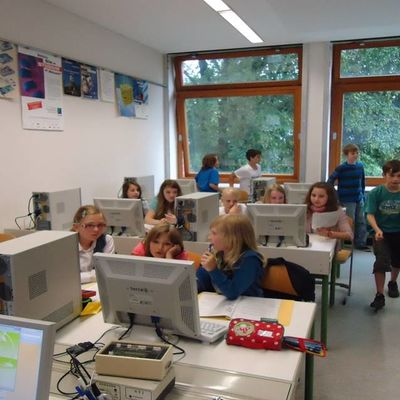 Workshop im Computerraum