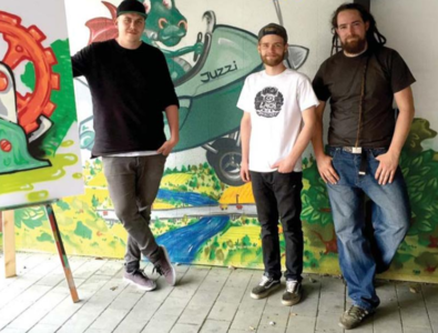 Offener Graffitiworkshop
